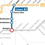 Linea B1 della Metropolitana di Roma