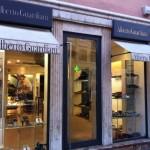 Il negozio di Alberto Guardiani a Roma