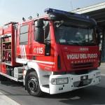 Autobotte dei vigili del fuoco