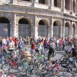 Ciclisti a Roma