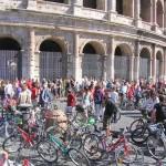Ciclisti a Roma