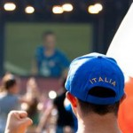 Maxischermo per Euro 2012